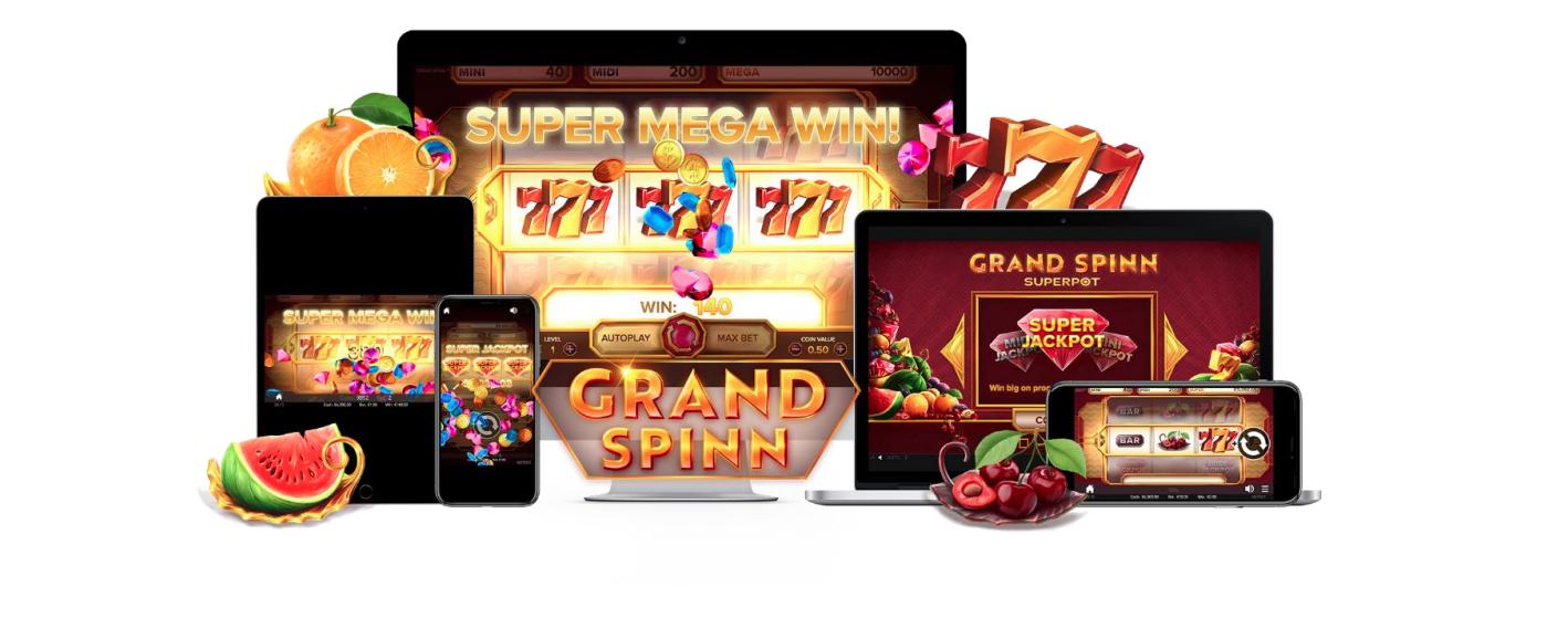 Grand Spinn – NetEnt Slot